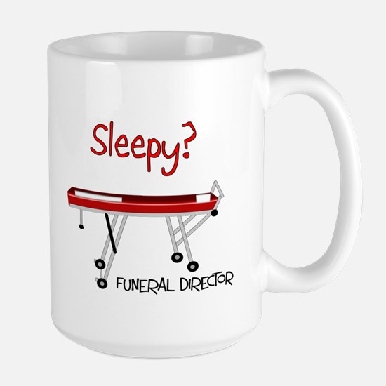 Funeral Director/Mortician Large Mug