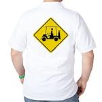 Repulsive Gear Street Signs Logo Golf Shirt