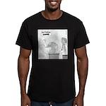 Returns Men's Fitted T-Shirt (dark)