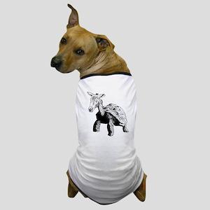 Turtle Donkey Chimera Dog T-Shirt