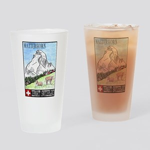 Matterhorn Pint Glass