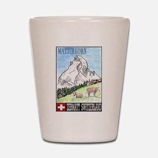 Matterhorn Shot Glass