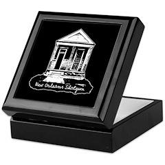 New Orleans Shotgun Keepsake Box