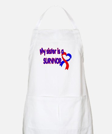 Sister CHD Survivor Shop Apron