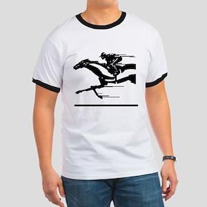 Horse Racing Ringer T