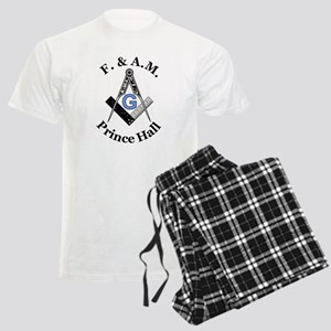 Prince Hall Square and Compass Men's Light Pajamas