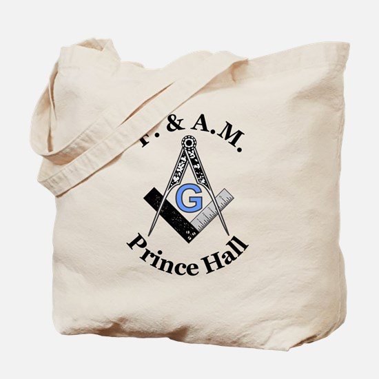 Prince Hall Square and Compass Tote Bag
