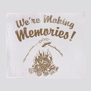 We're Making Memories! Throw Blanket