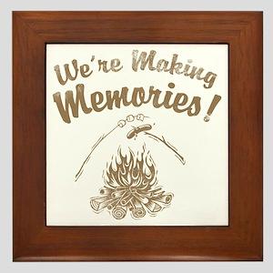 We're Making Memories! Framed Tile