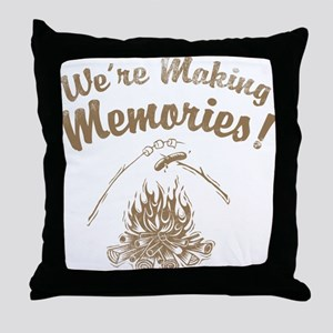 We're Making Memories! Throw Pillow