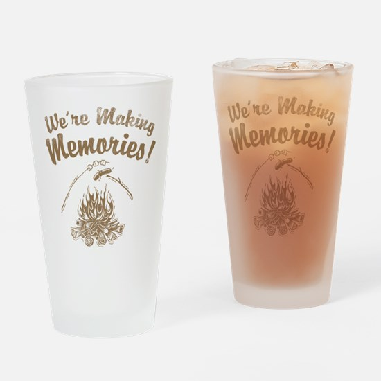 We're Making Memories! Pint Glass