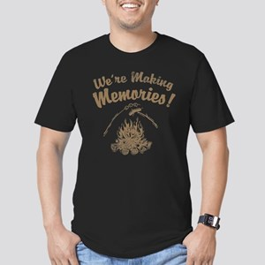 We're Making Memories! Men's Fitted T-Shirt (dark)