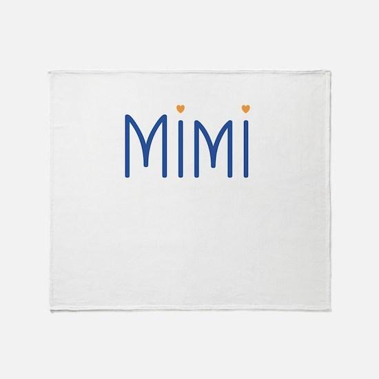 Mimi Hearts Throw Blanket