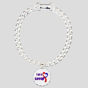 I AM A CHD SURVIVOR Charm Bracelet, One Charm