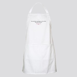 The Whole Dam Thing Apron