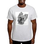Yorkshire Terrier Ash Grey T-Shirt