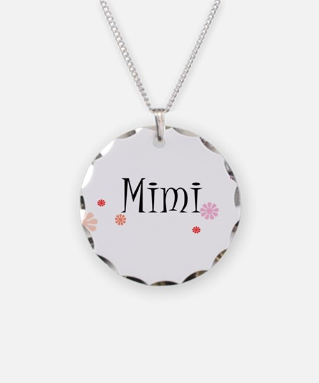 Mimi With Flowers Necklace