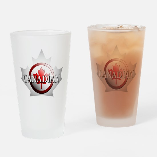I be Canadian Pint Glass