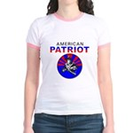 American Patriot Cameo Jr. Ringer T-Shirt