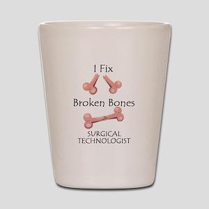 Broken Bones ST Shot Glass