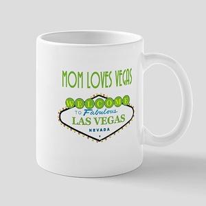 Mom Loves Vegas Mug