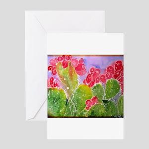 Cactus, southwest art, Greeting Card