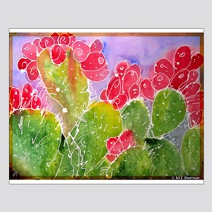 Cactus, southwest art, Small Poster