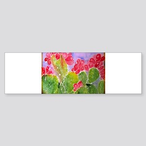 Cactus, southwest art, Sticker (Bumper)