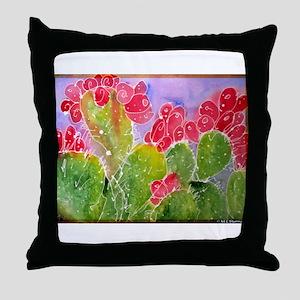 Cactus, southwest art, Throw Pillow