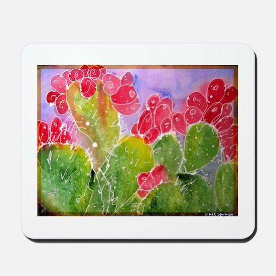 Cactus, southwest art, Mousepad