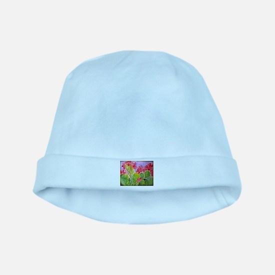 Cactus, southwest art, baby hat