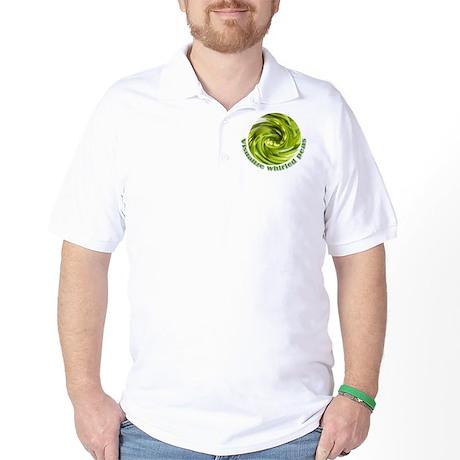 Whirled Peas Golf Shirt