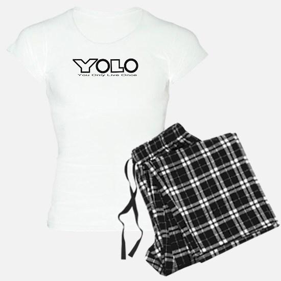 YOLO Black Pajamas
