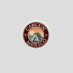 Cancun Mexico Mini Button
