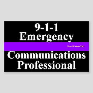 9-1-1 Ecp P&w Sticker