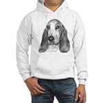 Bassett Hound Hooded Sweatshirt
