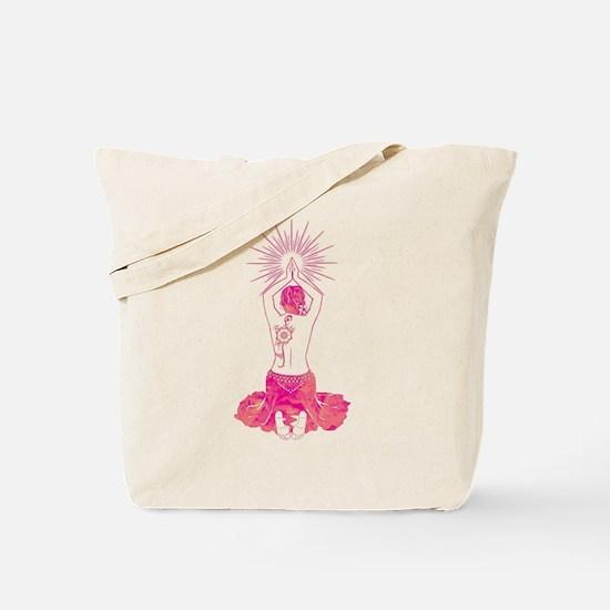 Belly Dance Sunrise Tote Bag