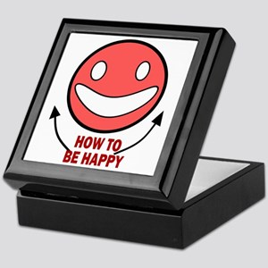 How to be Happy Keepsake Box