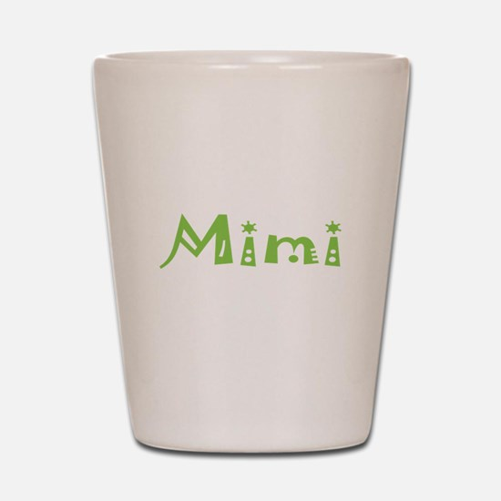 Green Mimi Shot Glass