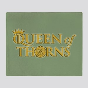GOT Queen Of Thorns Throw Blanket