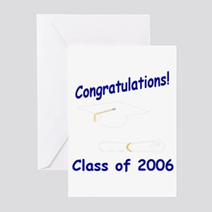 Congratulations/Class of 2006 Greeting Cards (Pack