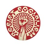 "RESIST SOCIALISM 3.5"" Button (100 pack)"