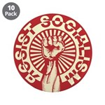 "RESIST SOCIALISM 3.5"" Button (10 pack)"