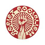 """RESIST SOCIALISM 3.5"""" Button"""