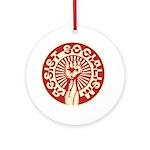 RESIST SOCIALISM Ornament (Round)