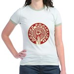 RESIST SOCIALISM Jr. Ringer T-Shirt