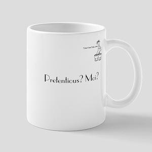 Pretentious? Moi? Mug