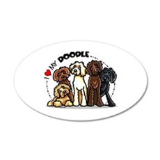 Love Labradoodles Wall Decal