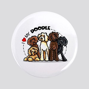 "Love Labradoodles 3.5"" Button"