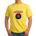 American - American Patriot Yellow T-Shirt